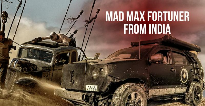 This modified Toyota Fortuner SUV is straight out of MAD MAX