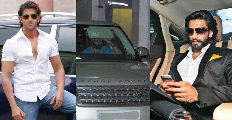 Macho Bollywood stars and their SUVs: Akshay Kumar to Ranveer Singh