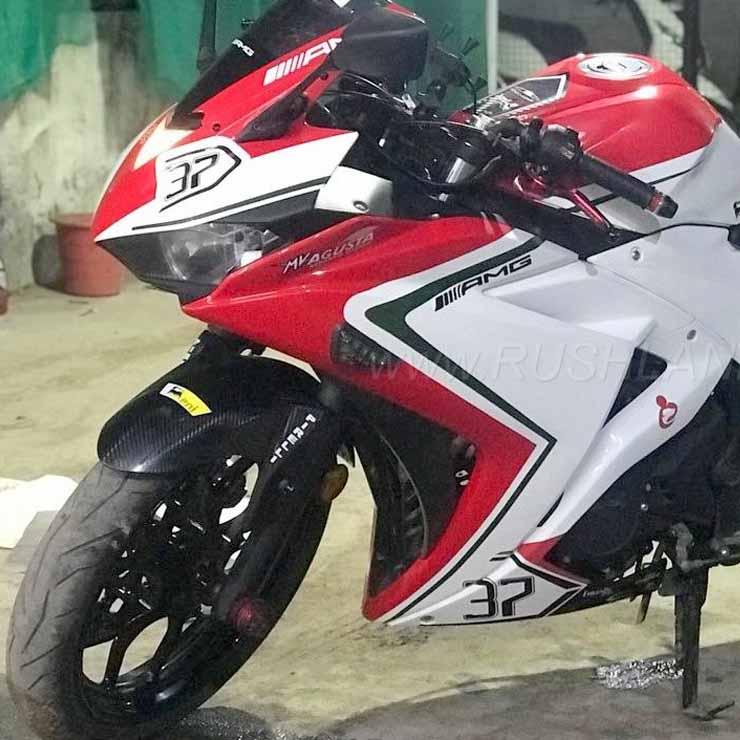 Chennai-Based Bike Enthusiast Transforms Yamaha R3 Into MV Agusta F3