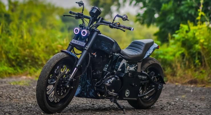 5 custom Royal Enfield motorcycles from Maratha customs