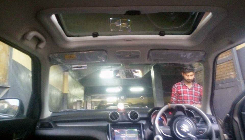 new 2018 maruti suzuki swift with sunroof images