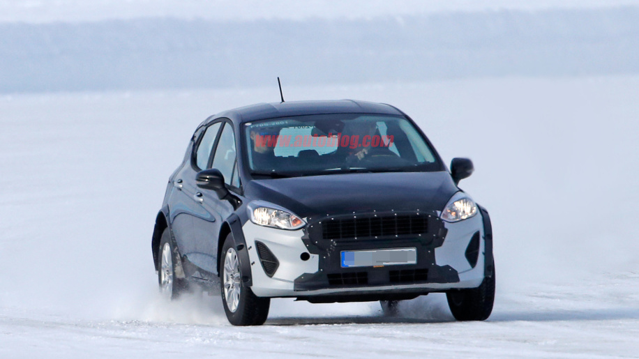 All-new Ford Ecosport spied testing with Fiesta body