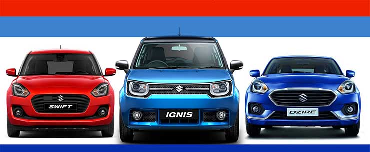 New Maruti Swift vs Dzire vs Ignis: Who should buy what!