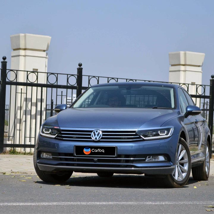 new volkswagen passat test drive review images