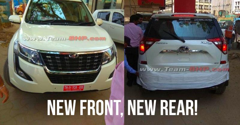2018 Mahindra XUV500 fully REVEALED; To rival Hyundai Creta & Jeep Compass SUVs