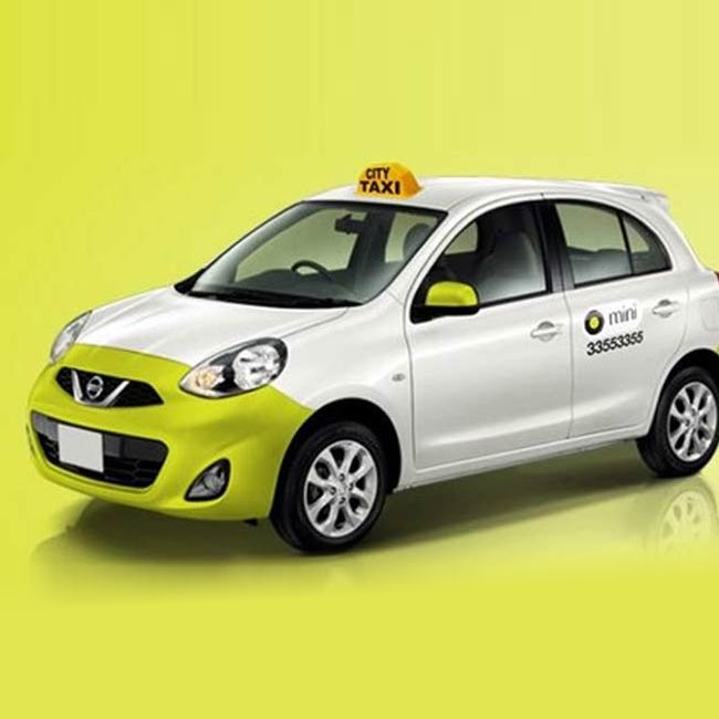 ola and uber private car as taxi