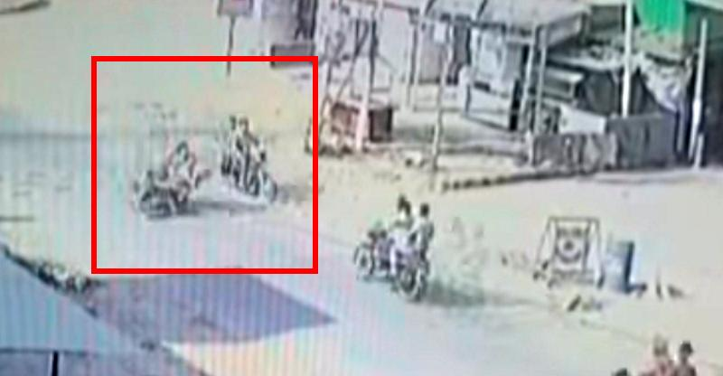 Why 'parallel riding' at high speed is so dangerous [Video]