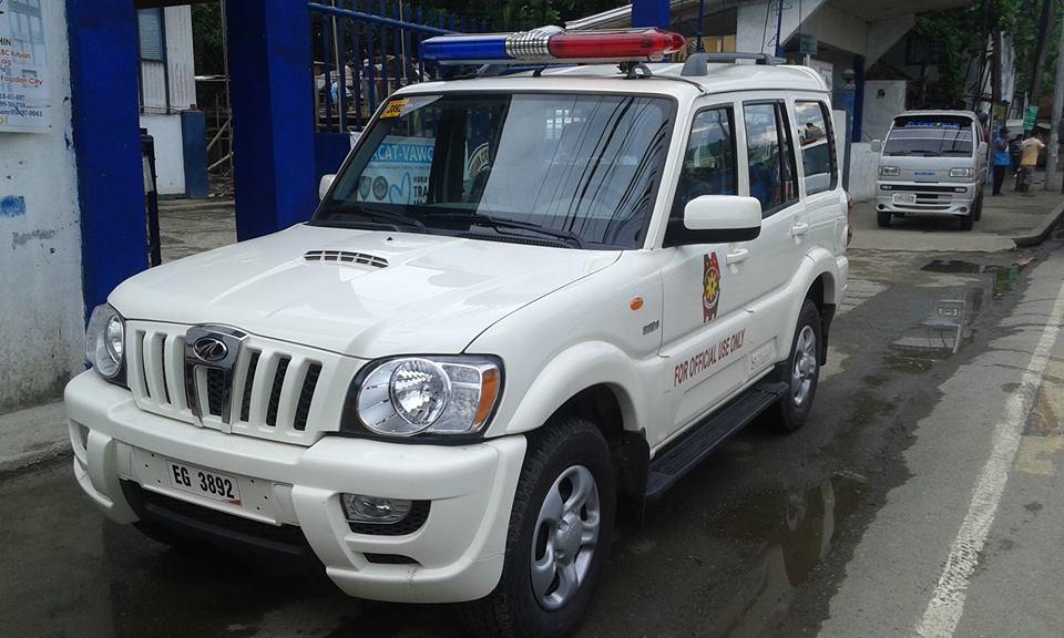 phillipines police mahindra scorpio