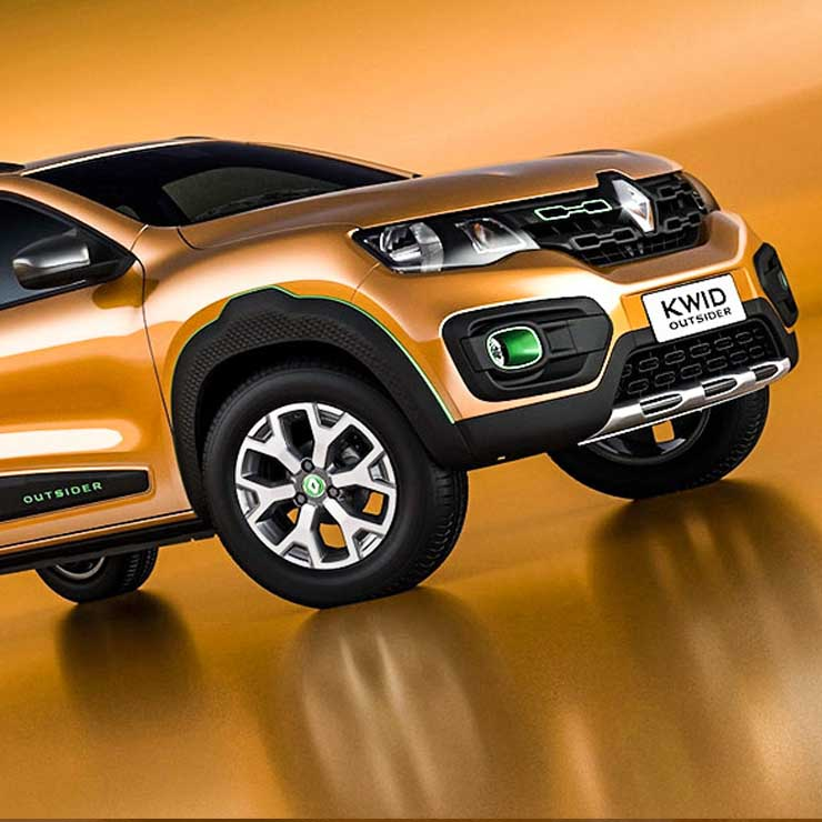 renault kwid outsider images