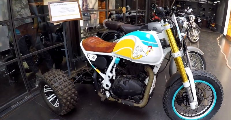 This Royal Enfield Himalayan Trike modification is the best thing you will see today!