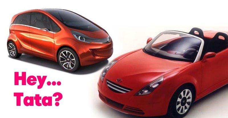 Beautiful Tata motors concepts everyone has forgotten about!
