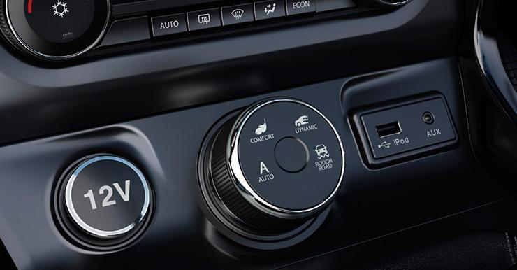 tata hexa driving modes