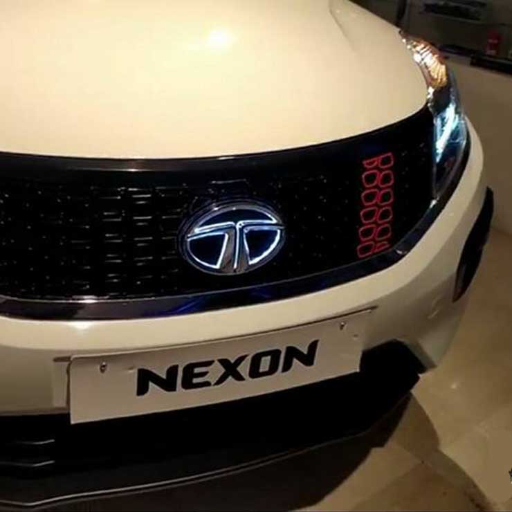 tata nexon sport accessories dealer model