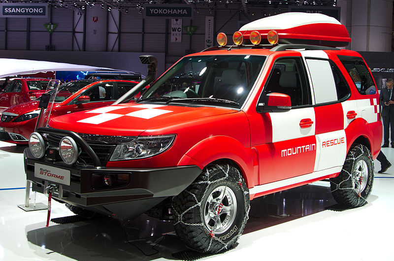 tata safari storme mountain rescue concept images