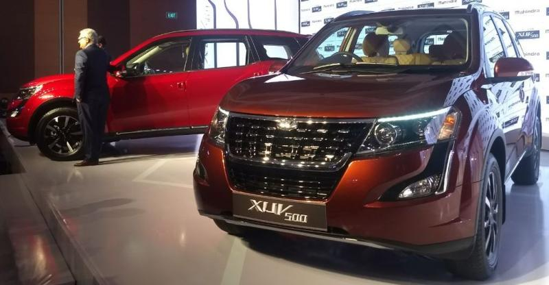 2018 Mahindra XUV500 Facelift launched in India; Much cheaper than Jeep Compass SUV