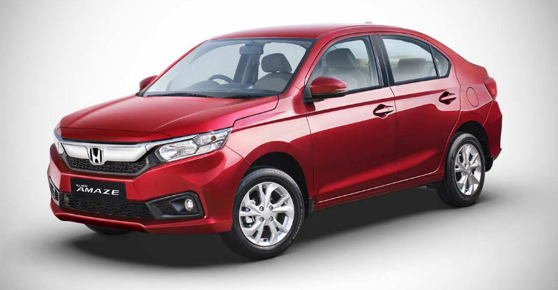 2018 Honda Amaze to come with as many as 8 new features