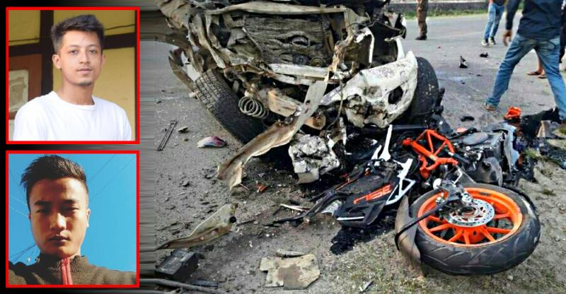 KTM Duke 390 & Mahindra Bolero in a high-speed crash