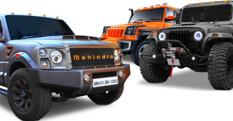 10 'custom-built' Mahindra SUVs you can buy straight from the factory: Scorpio Darkhorse to Bolero Stinger!