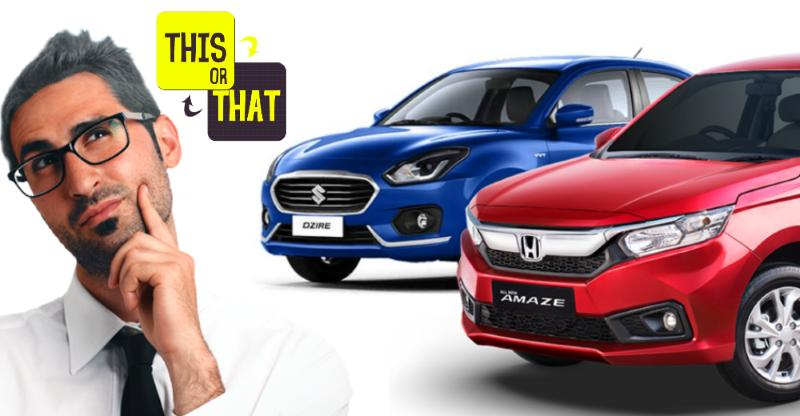 5 features of the Honda Amaze that makes it BETTER than the Maruti Dzire