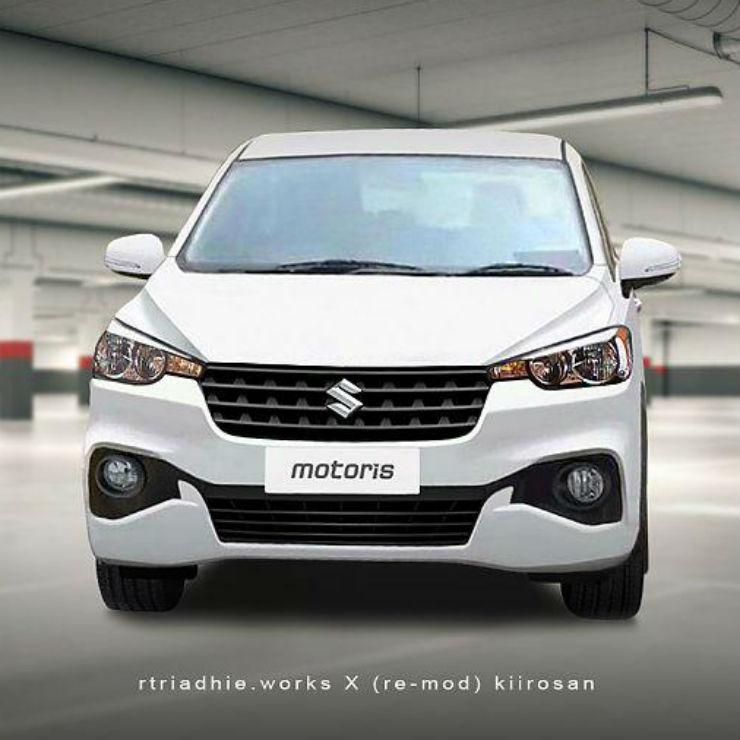 2018 new maruti ertiga mpv cleanest render brand new