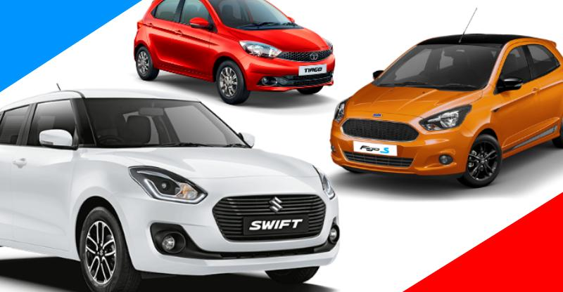 India's FASTEST budget petrol hatchback: Maruti Swift vs Ford Figo vs Hyundai Grand i10 vs VW Polo vs Taya Tiago