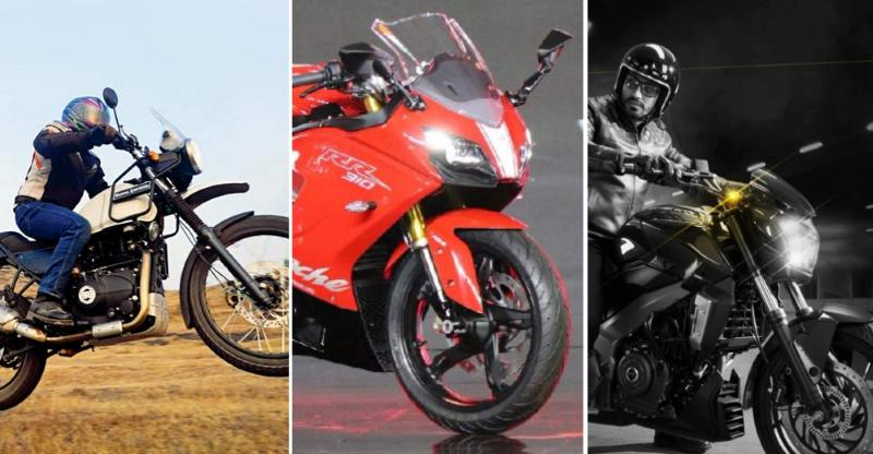 10 feature-rich, affordable motorcycles of India; From Royal Enfield Himalayan to TVS Apache RR310