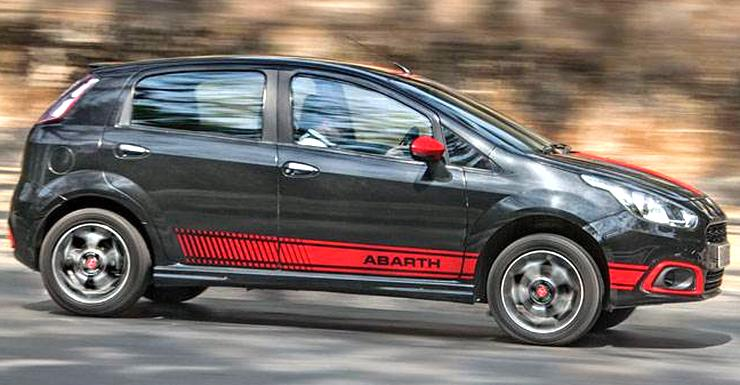 India's most powerful Fiat Punto Abarth is a total BEAST