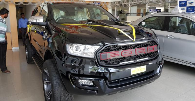Dealer-modified Ford Endeavour is a total BRUTE of a SUV