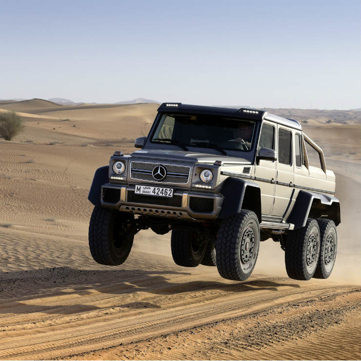 China does it again, copies Mercedes-AMG G63 6X6