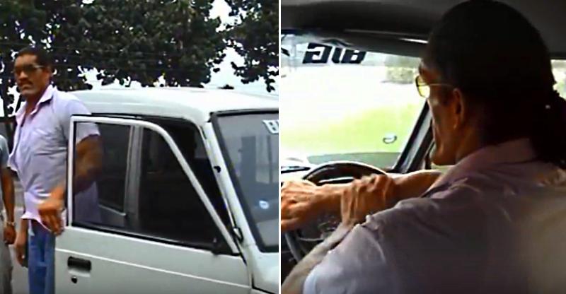 Great Khali drives a Tata Sumo on Indian roads [Video]