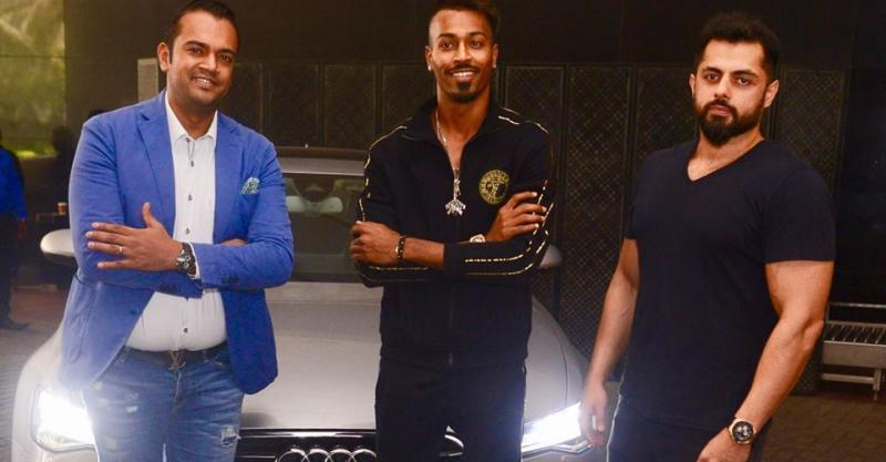Hardik Pandya's latest ride is an Audi A6 luxury sedan
