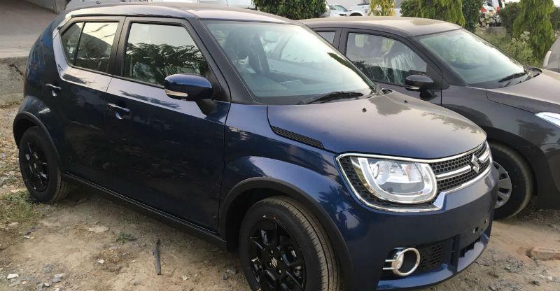 Maruti Suzuki Baleno & Ignis get a new paint scheme