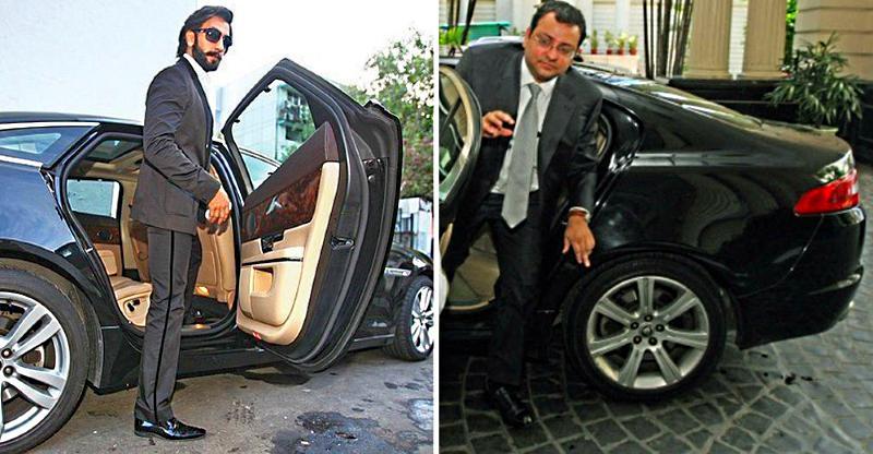 Ranveer Singh to Cyrus Mistry: India's famous Jaguar car owners