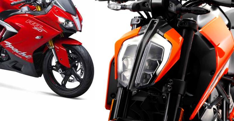 5 affordable motorcycles with LED headlamps below Rs. 1.27 lakh:  Honda Hornet to Yamaha FZ25 and YZF-R15 V3