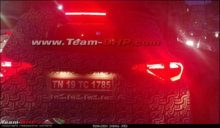 Maruti Vitara Brezza-rivalling Mahindra S201 (Ssangyong Tivoli) compact SUV spied