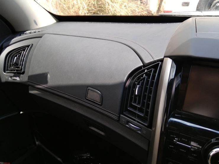 Mahindra Xuv500 Suv Facelift New Interior Pictures Reveal More