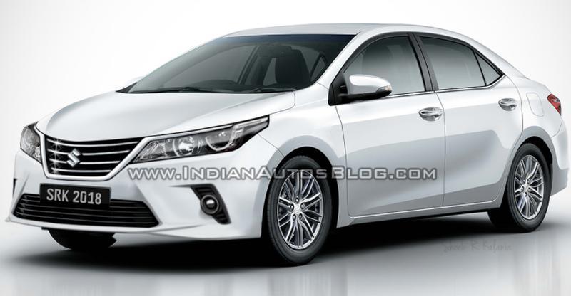 Maruti Suzuki's Toyota Corolla sedan: What it'll look like