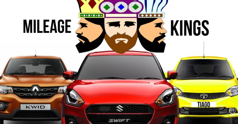 Top 10 'Mileage KING' petrol cars: Renault Kwid to new Maruti Suzuki Swift