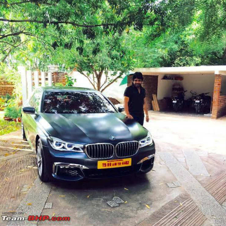 Rich & Famous BMW 7-Series Luxury Car Owners In India