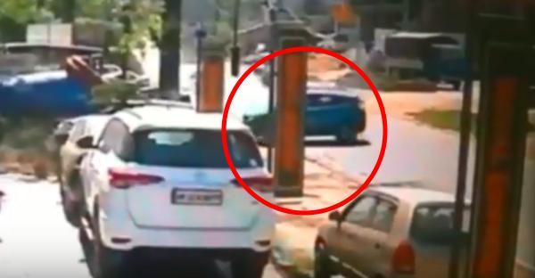 Tata Nexon crash caught on cam highlights perils of rash overtaking [VIDEO]