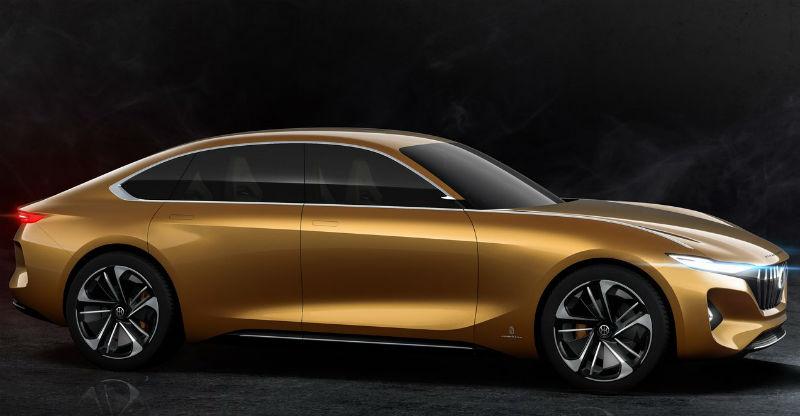 Mahindra-owned Pininfarina showcases an electric sedan