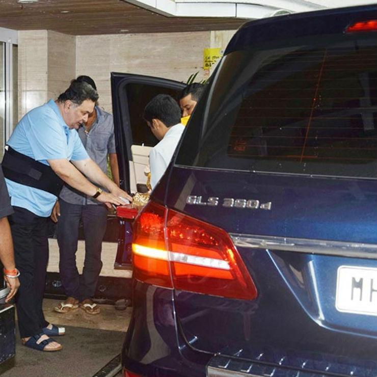 Rishi Kapoor's Car