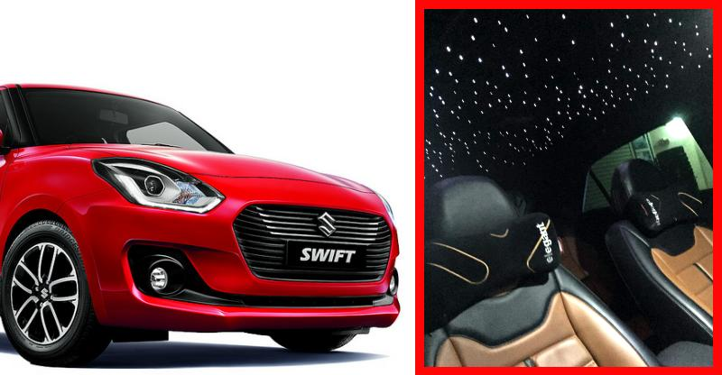 India's first new Maruti Suzuki Swift with Rolls Royce-style 'Starry Roof'