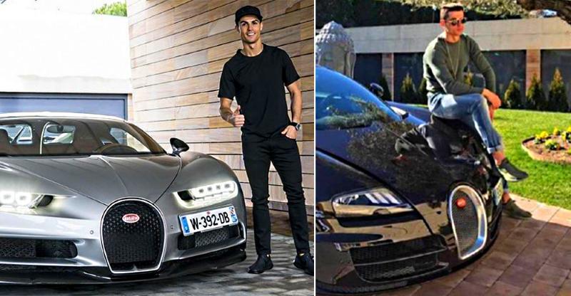 Cristiano Ronaldo & his CRAZY cars: Bugatti Chiron to Lamborghinis & Ferraris