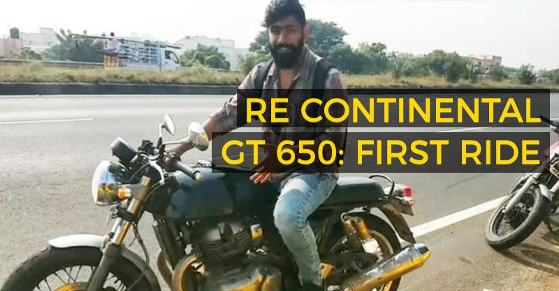 Royal Enfield Continental GT 650: India's very first review of the upcoming motorcycle