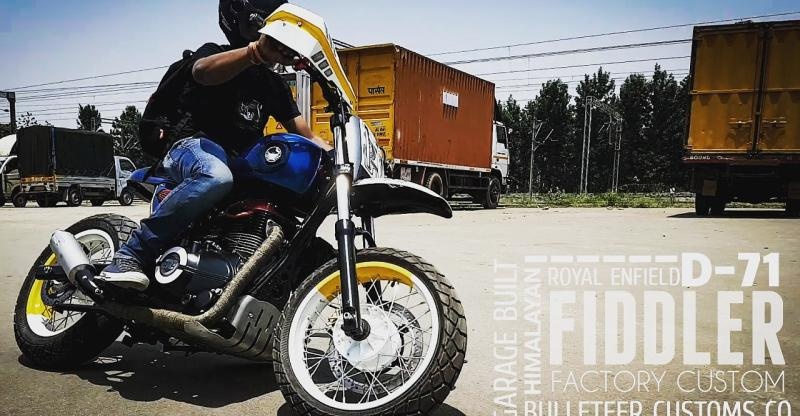 Royal Enfield Himalayan gets customised into the D-71 Fiddler
