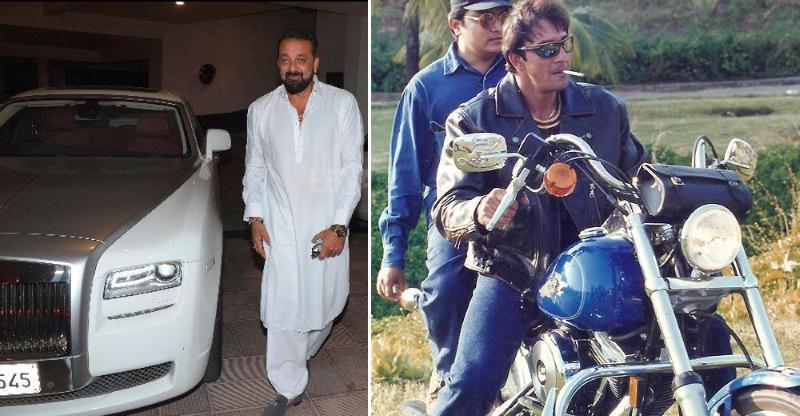 Sanjay Dutt & his EXOTIC cars & motorcycles: From Harley Davidson Fatboy to Rolls Royce Ghost