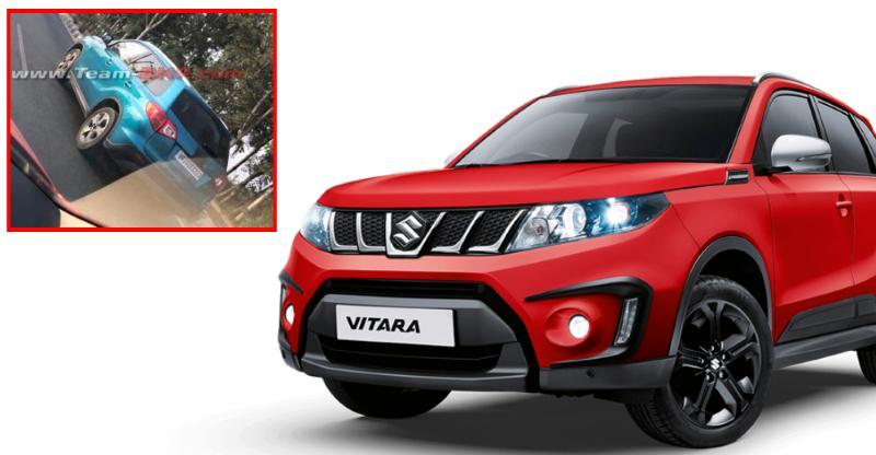 Maruti Suzuki Vitara spied in India; To rival Hyundai Creta compact SUV