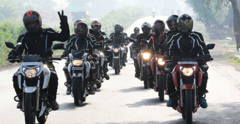 TVS Apache Owners Group (AOG) completes their first chapter