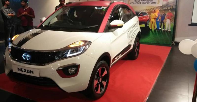 Tata Nexon compact SUV's IPL Sunrisers Hyderabad & Chennai SuperKings Editions arrive at dealerships